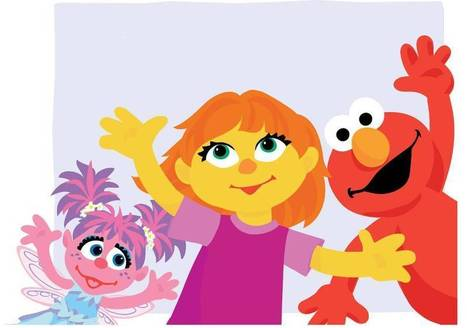 Sesame Street introduces Julia, a new character with autism | TCDSB Special Education | Scoop.it