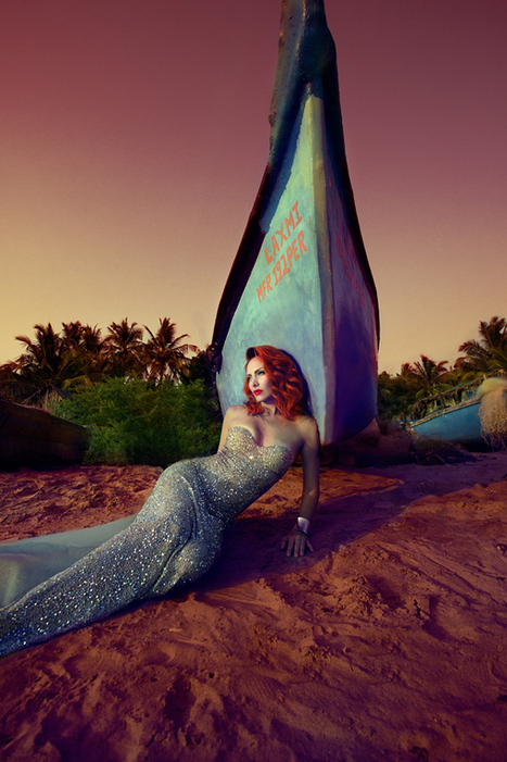 Stunning Sea Nymphs Wash Ashore in Sparkling Fashion - My Modern Metropolis | Le It e Amo ✪ | Scoop.it