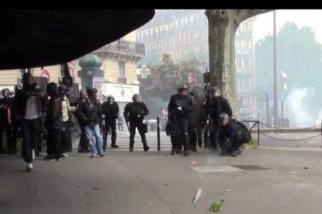 Un CRS a tiré une grenade sur un réalisateur et l'a blessé pour l'empêcher de filmer | Archivance - Miscellanées | Scoop.it