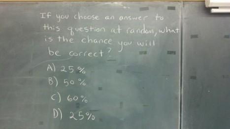 """Dando respuesta a """"la mejor pregunta de estadística de la Historia""""   GUSTOKO ARTIKULUAK   Scoop.it"""
