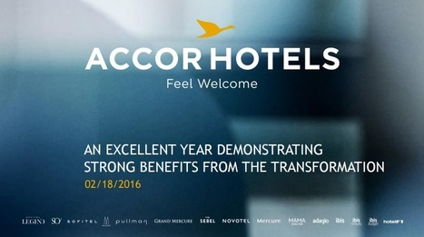 AccorHotels, une stratégie entre luxe et services | Travel and you will smile | Scoop.it