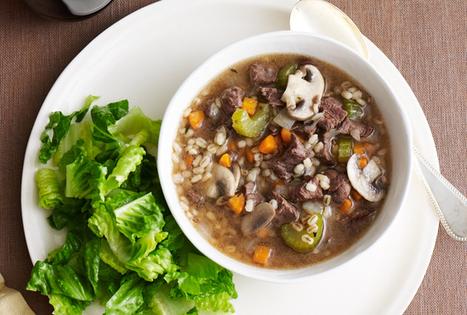 Beefy Mushroom Barley Soup | Meat Recipies | Scoop.it