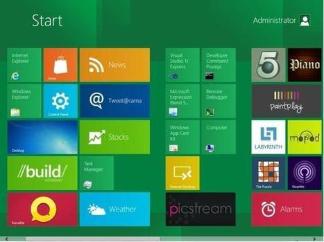 La course aux tablettes tactiles Windows 8 est lancée | LdS Innovation | Scoop.it