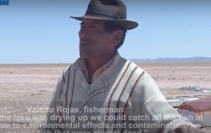 WATCH: climate change just turned Bolivia's second largest lake into a desert | Galapagos | Scoop.it
