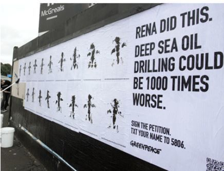Greenpeace unleashes potent multi-platform protest | Transmedia: Storytelling for the Digital Age | Scoop.it