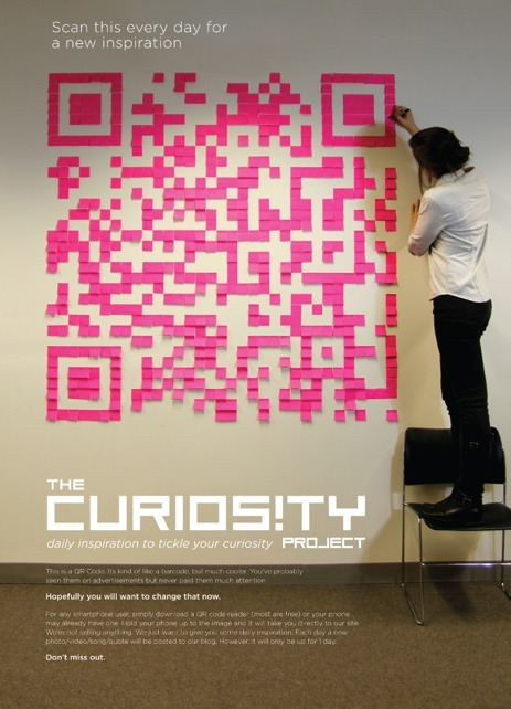 Lauren Manning Design : Curiosity Project | Designer Qrcodes | Scoop.it