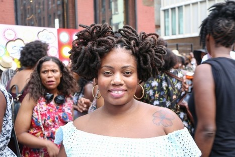 78 Photos of the Epic Natural Hair at Essence Street Style Block Party in Brooklyn NY  | Black Fashion Designers | Scoop.it