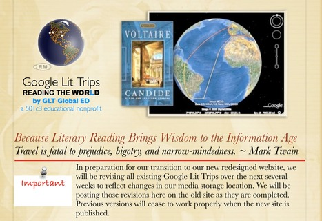 Big Changes Coming to Google Lit Trips! | Google Lit Trips: Reading About Reading | Scoop.it