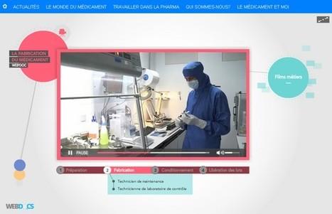 Entrez dans les coulisses de la fabrication du médicament | LEEM | L'actualité du webdocumentaire | Scoop.it