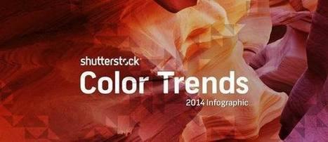 Infographic: Shutterstock's Top Color Trends of 2014 | Vectors | Scoop.it