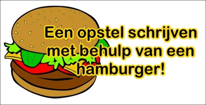 Edu-Curator: Laat leerlingen eens een opstel schrijven met behulp van een hamburger | Educatief Internet - Gespot op 't Web | Scoop.it