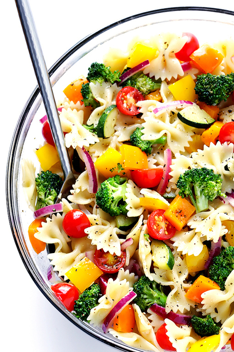 Veggie Lovers' Pasta Salad | Gimme Some Oven | Passion for Cooking | Scoop.it