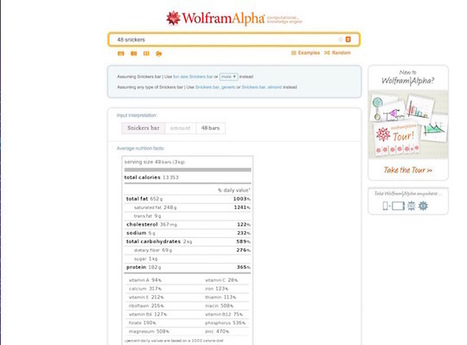 13 Awesome Wolfram Alpha Tricks for the Average Person | Internet Search | Scoop.it