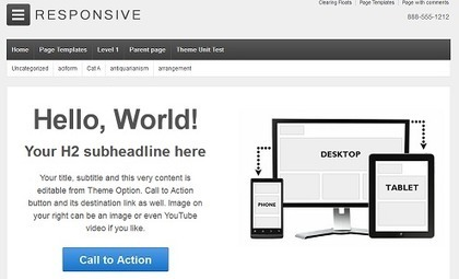 Template gratis de Wordpress para diseño web sensible - MBlog | Marketing 2.0 | Scoop.it
