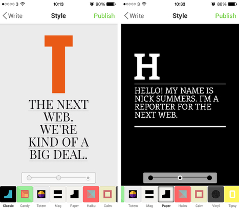 Notegraphy is an Instagram-style app for creating short notes with beautiful typography | Arts Independent | Scoop.it