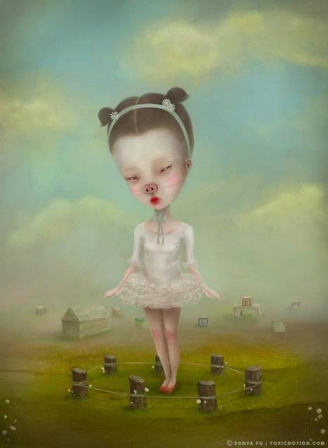 Sonya Fu | Digital Artist | les Artistes du Web | Scoop.it