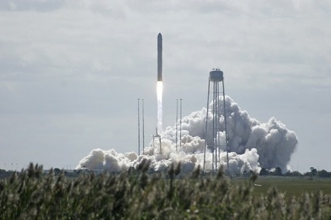 Antares Launch Report | Press site views of second Antares launch | Spaceflight Now | The NewSpace Daily | Scoop.it