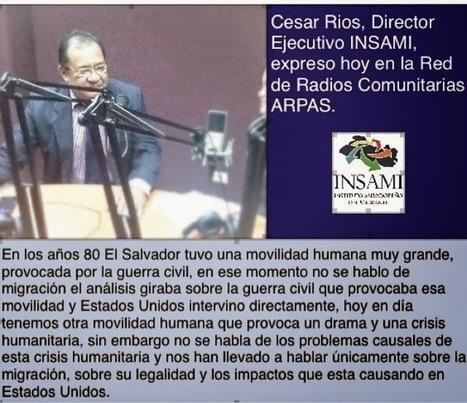 Instituto Salvadoreño del Migrante: EN LOS AÑOS 80 SE HABLO DE LA GUERRA CIVIL NO DE MIGRACIÓN Y MUCHOS PAÍSES NOS DIERON REFUGIO   INSAMI migracion   Scoop.it