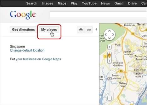 Create Custom Personalized Maps in Google Maps | Teknologifronten i min digitala värld | Scoop.it