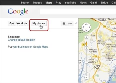 Create Custom Personalized Maps in Google Maps | Teknologifronten i min digitala värld | Scoop.it