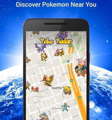 Poke Radar vous aide à capturer toute la collection de Pokémons qui existent | Référencement internet | Scoop.it