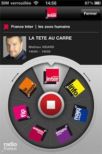 Nouvelles applis Radio France : à vos iPhones ! | nvx | Radio 2.0 (En & Fr) | Scoop.it