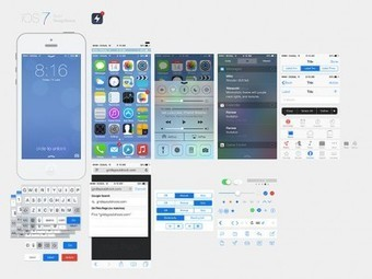 15 Free PSD Templates For Your Next iOS 7 App | Mobile Applications Development | Scoop.it