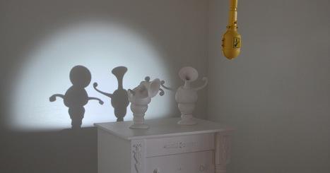 Dancing Shadow Sculptures by Dpt. and Laurent Craste [Updated] | Art Installation | Scoop.it