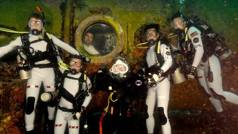 Astronauts will become aquanauts in unusual space training - Florida Today   Spacetime Curiosities   Scoop.it