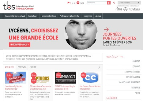 Le site internet de Toulouse Business School adapté aux handicapés - Toulouse7.com | About Toulouse Business School | Scoop.it