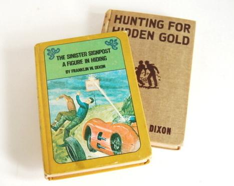 Vintage Hardy Boys books - The Vintage Village | Vintage Passion | Scoop.it