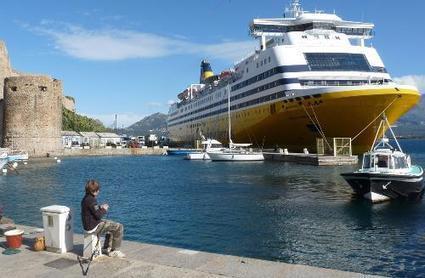 Liaisons Corse-Toulon avec la coque déchirée: enquête à la Corsica Ferries | sncm | Scoop.it