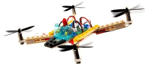 Flybrix DIY LEGO Drone Kit - From LEGO bricks to drone in 15 minutes | iPads, MakerEd and More  in Education | Scoop.it