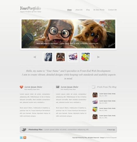 15 tutoriels pour créer des maquettes web sur Photoshop | Formation aveyron CRP | Scoop.it