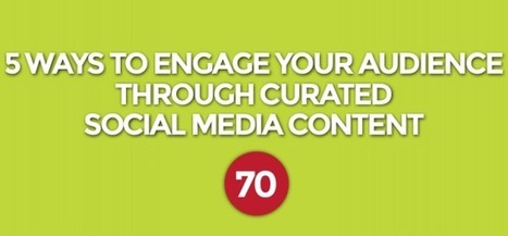 5 Ways to Engage Your Audience Through Curated Social Media Content | Surviving Social Chaos | Scoop.it