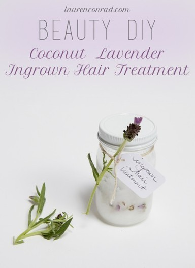 Beauty DIY: Coconut Lavender Ingrown Hair Treatment | Organic and Natural Beauty Product news | Scoop.it