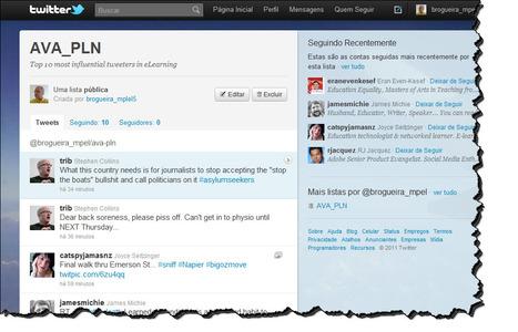 Construindo um rede pessoal de aprendizagem com o Twitter - João Brogueira | CoAprendizagens 21 | Scoop.it