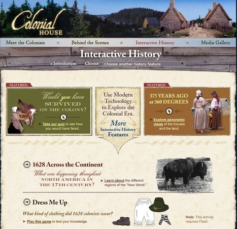 Learning Never Stops: 6 powerful interactive history sites | Education Resources | Scoop.it