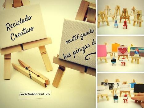 Regalos originales: Cómo hacer caballetes en miniatura con pinzas de madera | Con tus propias manos - Lola | Scoop.it