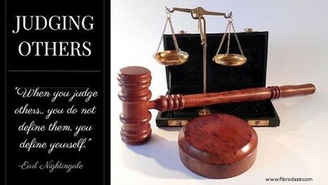 Judging Others – We All Do It » | Fibromyalgia | Scoop.it