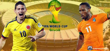 Pronostics Colombie Côte d'Ivoire : Groupe C - Coupe du Monde 2014 | Paris sportifs et pronostics | Scoop.it