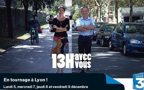 Alatelecesoir: France 3 tourne à Lyon ! | LYFtv - Lyon | Scoop.it