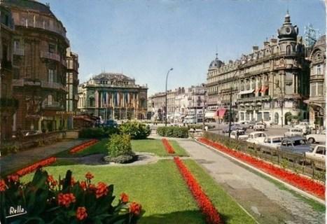 Montpellier, Place de la Comédie : 130 ans d'évolution | Actualités sur l'innovation en Languedoc-Roussillon | Scoop.it
