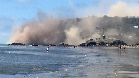 New Zealand cliffs collapse in Christchurch earthquake - BBC News | Geography | Scoop.it