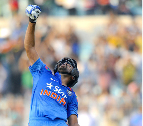 Rohit Sharma becomes the Only Batsman with Two ODI Double Hundreds   Sportycious   Scoop.it