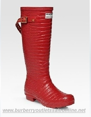 Burberry Lady Rain Boots-Red [B002578] - $149.00 : Burberry Outlet Stores,Burberry Outlet Online,Cheap Burberry For Sale | Burberry | Scoop.it