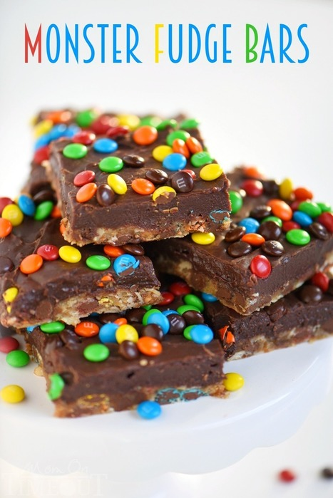 Monster Fudge Bars | Passion for Cooking | Scoop.it