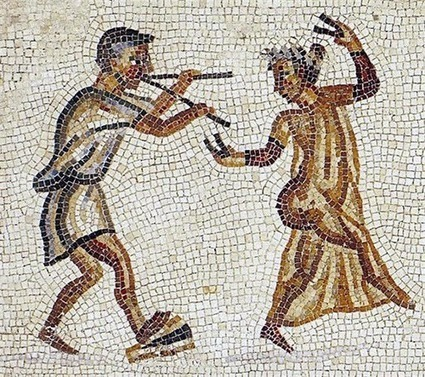Versos fesceninos: el erótico origen del teatro en Roma | Mundo Clásico | Scoop.it