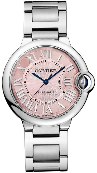 Replique Cartier Ballon Bleu 36mm Femmes Rose Montre automatique W6920041 - €128.00 | AAA replica  watches from china | Scoop.it