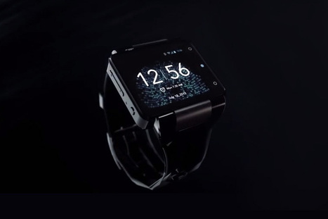 neptune pine smartwatch at CES 2014 - designboom | architecture & design magazine | product design, light | Scoop.it